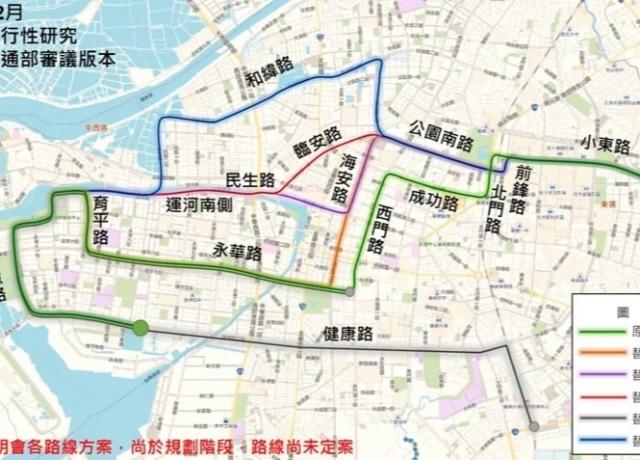 台南捷運藍線 最快2026年開闢