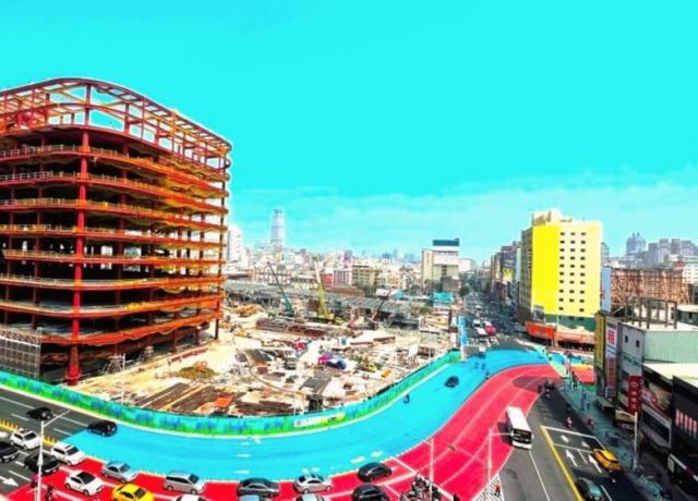 台鐵站東宿舍8386坪基地都更案 串連71期與綠園道採整體開發